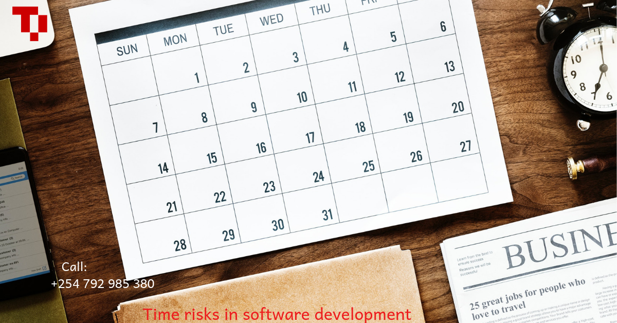 Time risks in software development
