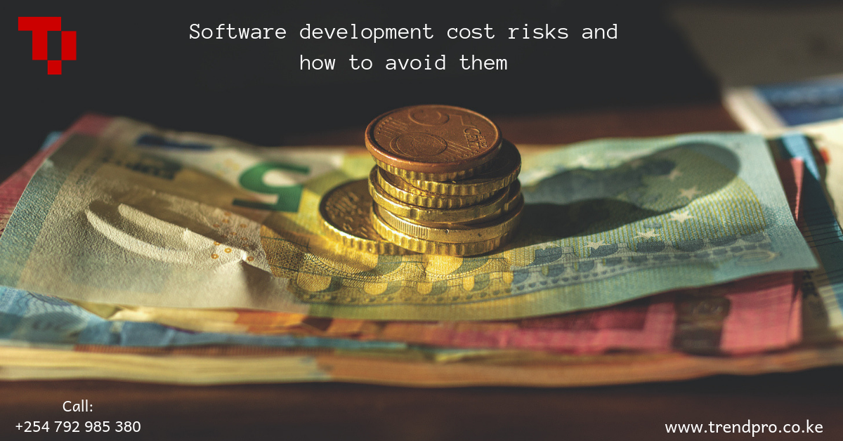 Software development  cost risks and how to avoid them