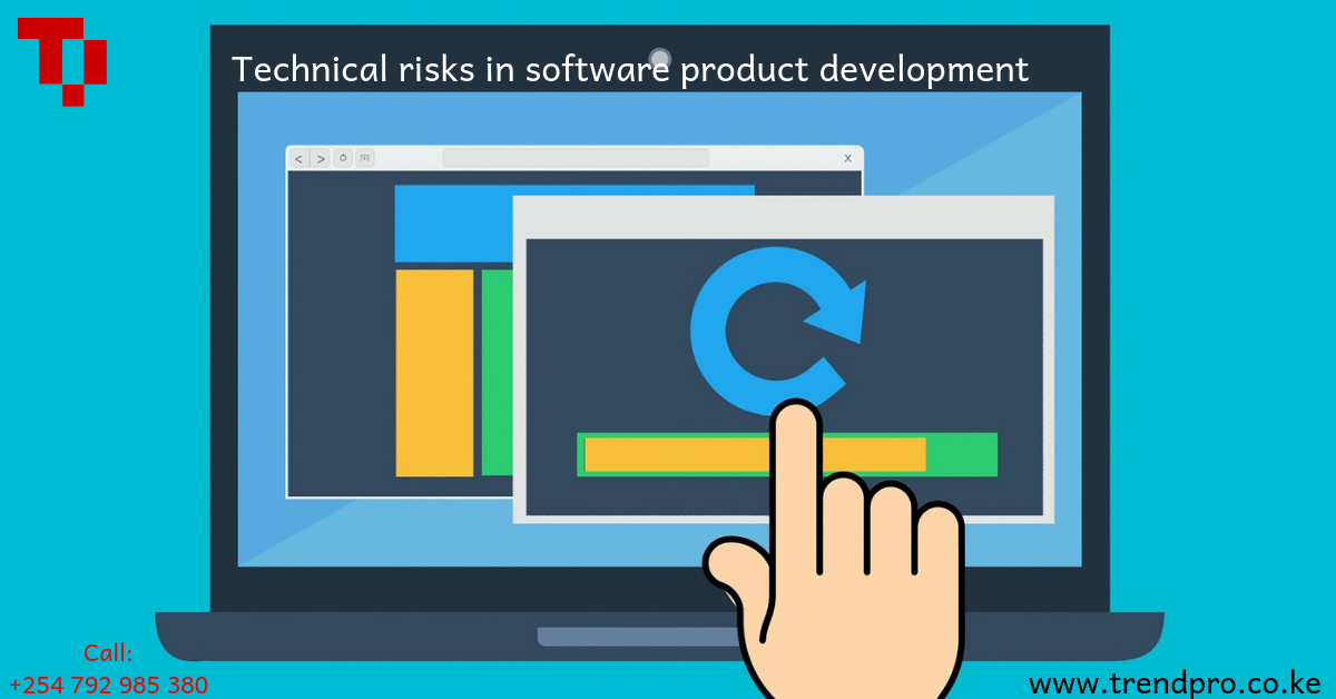 Technical risks in software product development